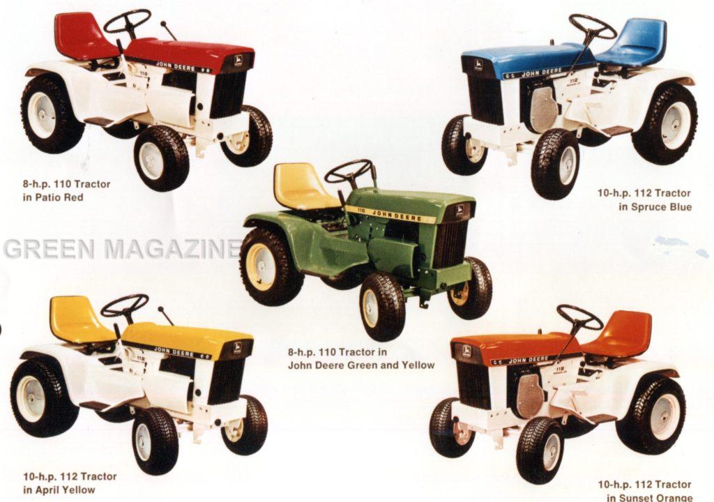 John Deere Custom Color Lawn Tractors - Green Magazine