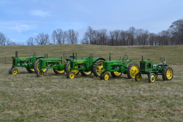 Family Tractor Collection